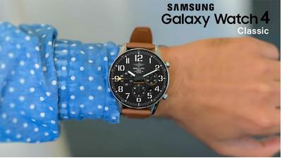 Galaxy Watch 4 Classic lộ diện sắc nét trong video 360 độ